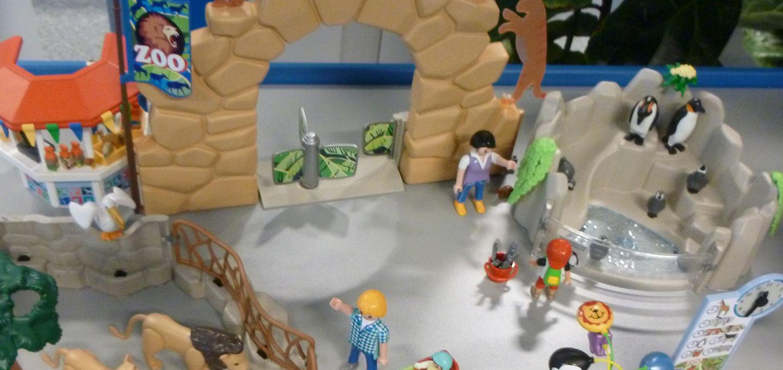 Playmobil zoo overzicht