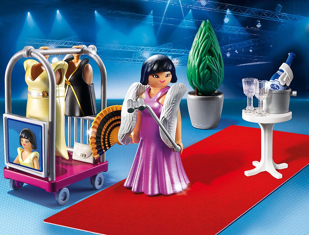 Playmobil model avondkledij