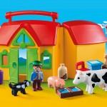 Playmobil 1-2-3 meeneemboerderij