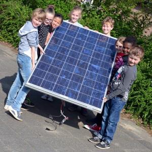 zonnepaneel school