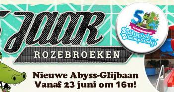 S&R Rozebroeken Gent opent nieuwe glijbaan