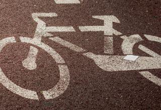 Fluo op de fiets