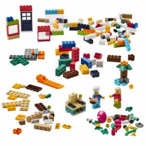 BYGGLEK: set LEGO steentjes