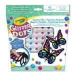 Glitter Dots Vlinder