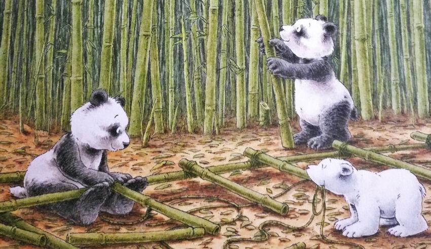 De Kleine Ijsbeer en de pandaberen