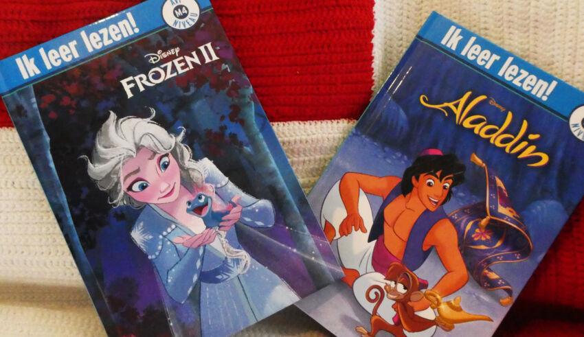 Leren lezen: Frozen 2 & Aladdin